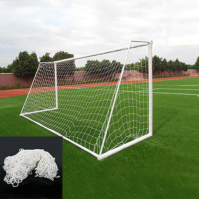 12 X 6FT Football Soccer Goal Post Nets For Sports Junior Training Match Replace