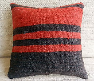 turkish pillow cover decorative pillow vintage kilim pillow sofa pillow 16 x16