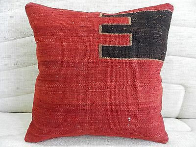 kilim pillow cushion cover decorative pillow vintage kilim sofa pillow 16 x16