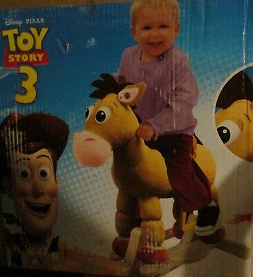 Toy Story BULLSEYE Swing N' Sway Rocking Horse Real Trotting Sound & Music
