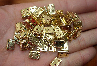 Hinges 1/12 Furniture with Mini Metal Dollhouse Hot 20pcs Miniature Nails For