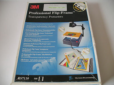 3M - Professional Flipframe Transparency Protectors