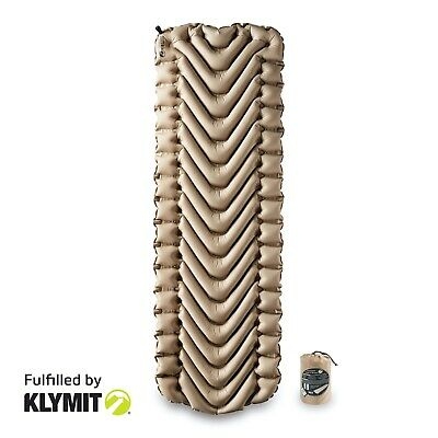 KLYMIT Static V Sleeping Pad RECON/SAND Lightweight Camping FACTORY REBURBISHED