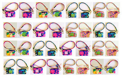 *VERA BRADLEY* Zip Id Case and Lanyard Set (New Colors added!)