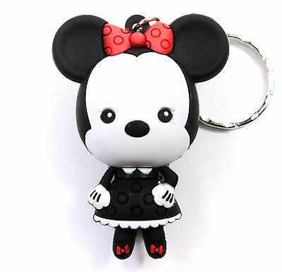 """Disney 3D Figural Keyring Series 3 MINNIE MOUSE CHASE 3"""" KEYCHAIN Exclusive A"""