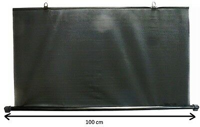 Rear Windshield Sun Shade Window To Car 100 Cm Black