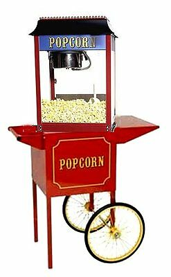 Paragon 1911 Antique 4 Ounce Popcorn Popper Machine and Cart Combo - USA Made