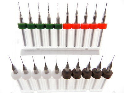 20 pack .3mm .4mm .5mm .6mm Drill Bit Tool Kit Modeling Watch Repair