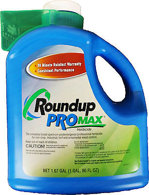 Monsanto RoundUp Promax Weed Killer Concentrate - 1.67 Gallon Jug