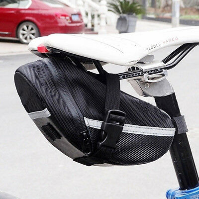 Waterproof Bike Bicycle Saddle Bag Pouch Tail Rear Storage Seat Bags Panniers