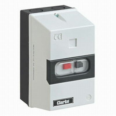 Clarke Electric Direct On Line Motor Protective Starter Overload [6.3 - 10 AMP]