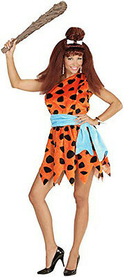 Fancy Dress Stone Age Cartoon Wilma Rubble Queen Pre Historic Cave Woman Hen
