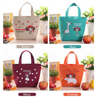 Waterproof Storage Bag Lunch Box Insulated Thermal Cooler Picnic Carry Tote k1