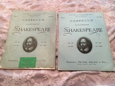 'CASSELL'S ILLUSTRATED SHAKESPEARE' 18 x EDITIONS OF SUBSCRIBERS MAGAZINE