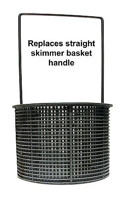 Hayward SPX1082CA Pool Skimmer Basket Improved Replacement handle only Stainless