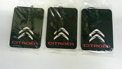 Citroen C1,C2,C3,C4,C5,C6, SAXO, BERLINGO * Car Air Freshener **Deal 3 for £5.99