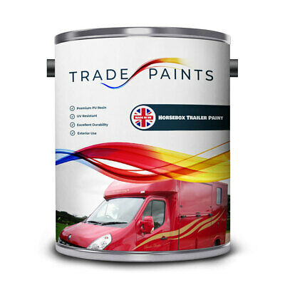 Horsebox & Trailer Polyurethane PU Metal Paint - All Can Sizes & Colours