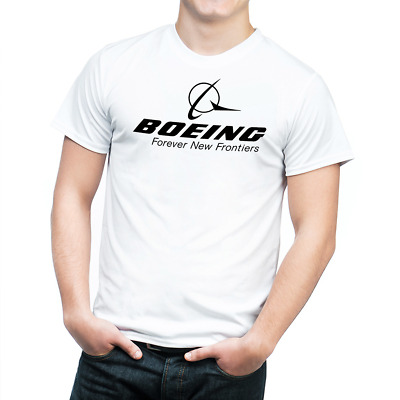 BOEING T-SHIRT Inspired Aviation Forever New frontiers ALL SIZES R02