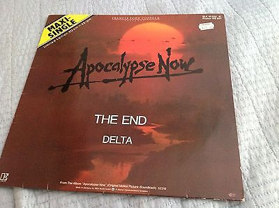 The Doors 'the End' / Delta (From Apocalypse Now) - 2-Track 12'' Single