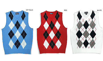 Blue Ocean Toddlers & Kids V-Neck Argyle Casual Sweater Vest
