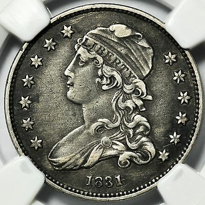 1831 Capped Bust Quarter NGC XF-40 Small Silver Coin [2404.05]