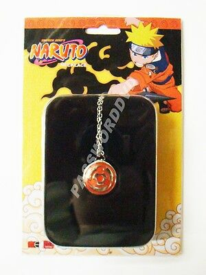 Naruto Sharingan Necklace Genuine Licensed Product New 7853