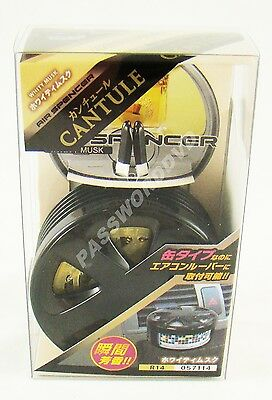 New Cantule - R14 Whity Musk Air Spencer Car Air Freshener Made In Japan