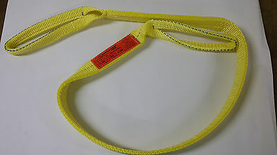 """2"""" x 6' 2-ply web sling MADE IN USA"""