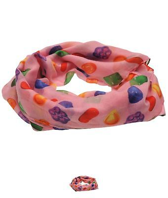 BRAND Cotton Crush Cotton Candy Scarf Pink