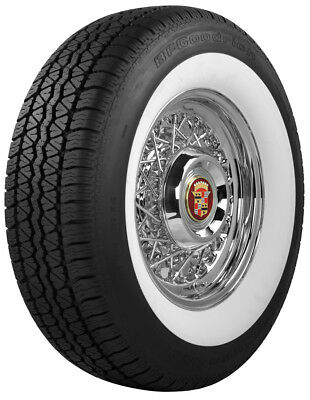 "P235/75R15 BFGoodrich Radial 2 7/8"" Wide Whitewall Tire"