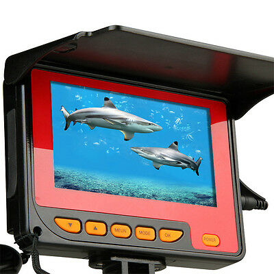 "20M 4.3"" TFT Underwater Fishing Camera System HD 1000TV Lines with Record"
