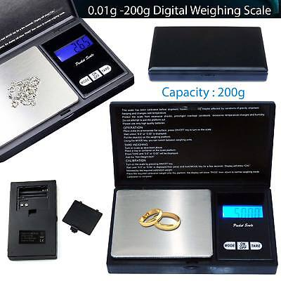 Small mini pocket digital electronic weighing weight scale 0.01g-100Gram UKstock