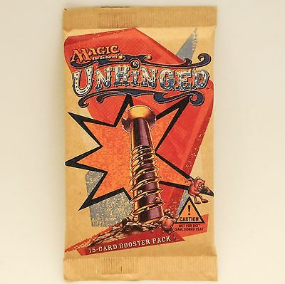 MTG: UNHINGED - Factory Sealed Booster Pack - Magic the Gathering Cards