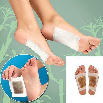 30Pcs  Health Care Detox Foot Pads Detoxification Patches Reduce aches,pains New