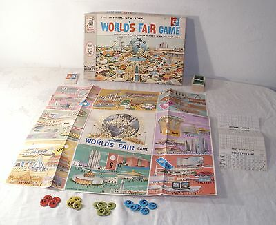 Milton Bradley Official New York World's Fair Board Game 1964