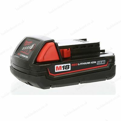 Milwaukee C18B 18V 1.5AH Lithium Ion Battery