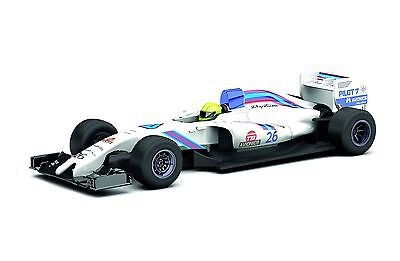 Scalextric GP Slot Racer Car (1:32 Scale), White