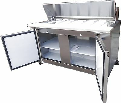 Coolman Commercial Refrigerated Sandwich Prep Table 48""