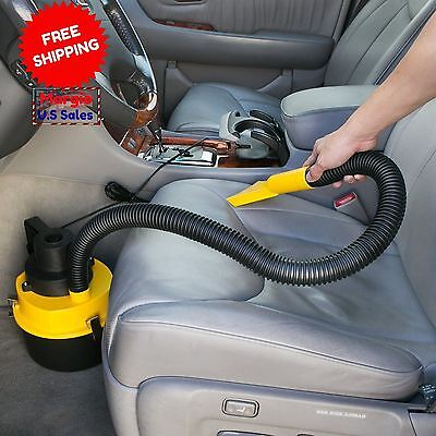 Car Vacuum Cleaner. Wet & Dry Ultra Vac.Hand Vacuum For Any 12V Vehicle