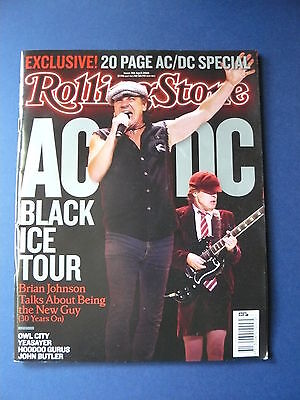Rolling Stone Magazine - AC/DC  Issue: 701 April. 2010