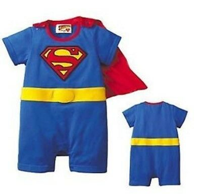 Baby boys baby outfit SUPER girl boy costumes 6-24 Mnth,give super start to life