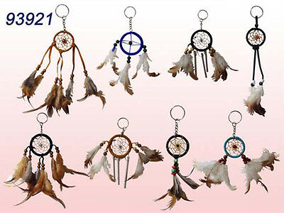 Handmade  Dream Catchers Key Rings   Wholesale  12 Pc Lot  ( NpDc7 Z)