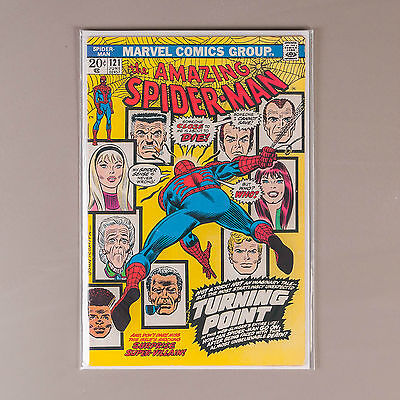 Amazing Spider-Man #121 (Vol. 1), 1973 Marvel Comics, Death of Gwen Stacy, VF