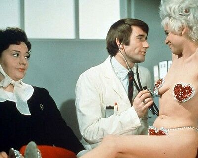 Carry On Again Doctor Barbara Windsor Hattie Jacques and Jim Dale 10x8 Photo