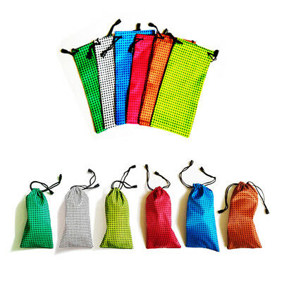 Soft Sunglasses Glasses Spectacles Drawstring Case Pouch Bag Mobile Phone Wallet