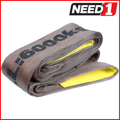 LIFT SAFE 6T x 3M Flat Lifting Sling 100% Polyester c/w Test Certificate