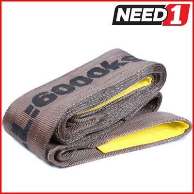 LIFT SAFE 6T x 2M Flat Lifting Sling 100% Polyester c/w Test Certificate