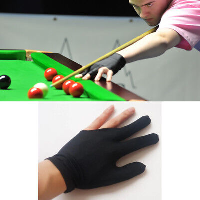 Snooker Pool Billiard Glove Cue Shooter 3 Fingers Glove for Left Right Handed