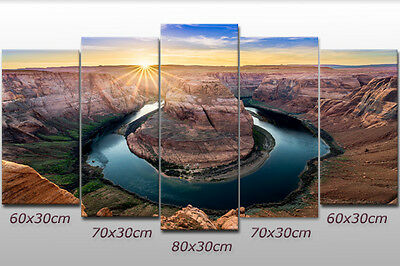 Leinwandbild Wandbild Grand-Canyon-Nationalpark Horseshoe Bend Arizona Wandeko