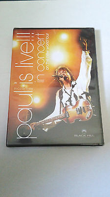 """PAUL McCARTNEY """"LIVE!!! IN CONCERT ON THE NEW WORLD TOUR""""  DVD PRECINTADO SEALED"""
